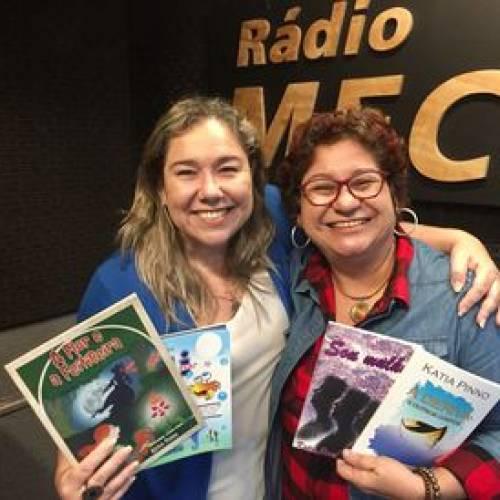 Katia Pinno é a convidada do Conversa com o Autor